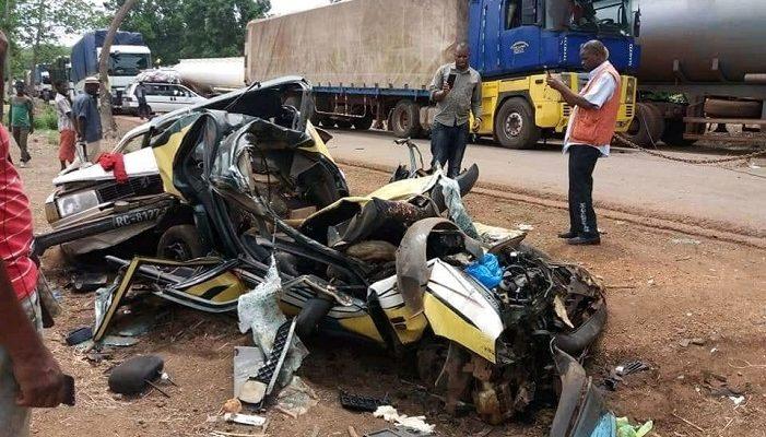 Accident mortel à Tiré, dans la préfecture de Faranah
