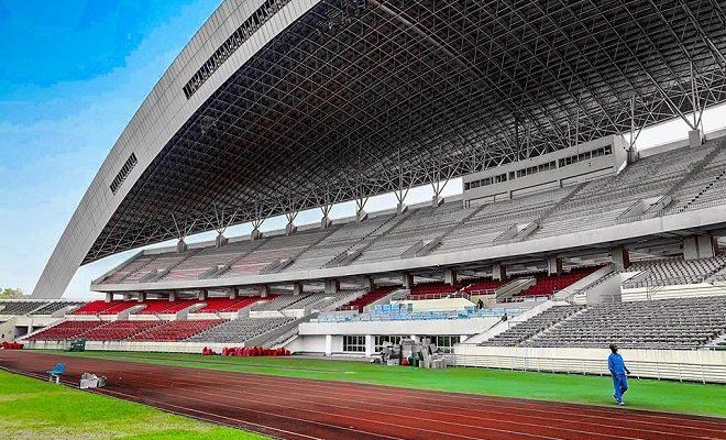 Dans l'enceinte du stade Nongo désormais appelé le Stade Général Lansana Conté