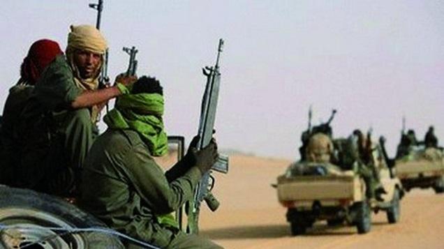Des membres d'un groupe djihadiste (image d'illustration)