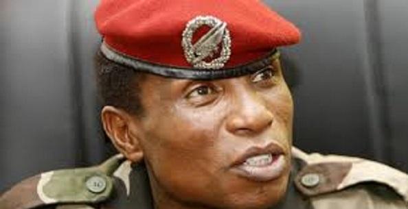 Moussa Dadis Camara, ancien chef de la junte militaire (CNDD)