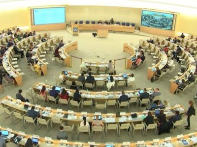 The 41th UNHRC in Geneca
