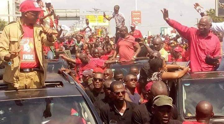 marche du FNDC bah oury salut Cellou Dalein Diallo