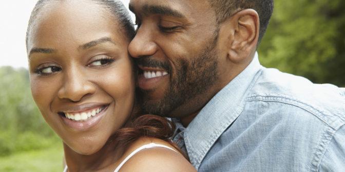 Un couple africain