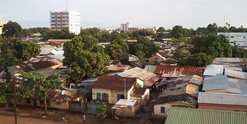 Un quartier populaire de Conakry (image d'illustration)