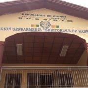 Les locaux de la gendarmerie de Kankan