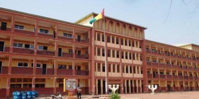 Dans l'enceinte de l'universite Julius Nyerere de Kankan