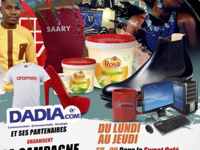 Affiche de campagne Smart de l'agence Didia