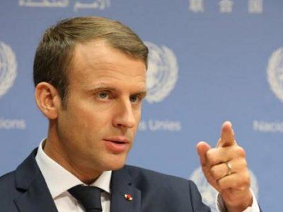 Emmanuel Macron, Président de la France