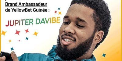Jupiter Davibe est devenu ambassadeur de ''YellowBet Guinée''