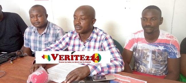 Moriba Soumaoro de l'Association la voix de Konia