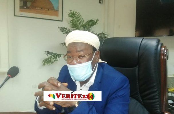 Papa Koly Kourouma, ministre de l'assainissement et de l'hydraulique