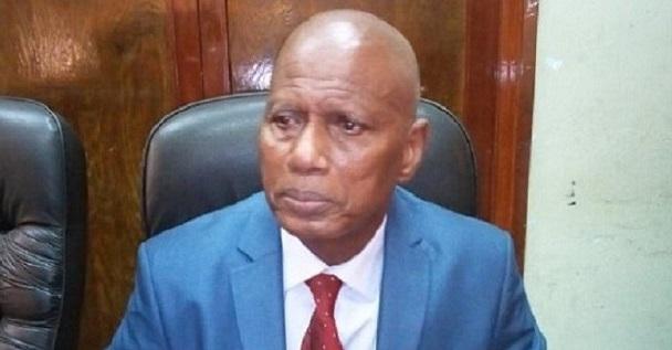 Boubacar Yacine Diallo, président de la Haute autorité de la communication (HAC)