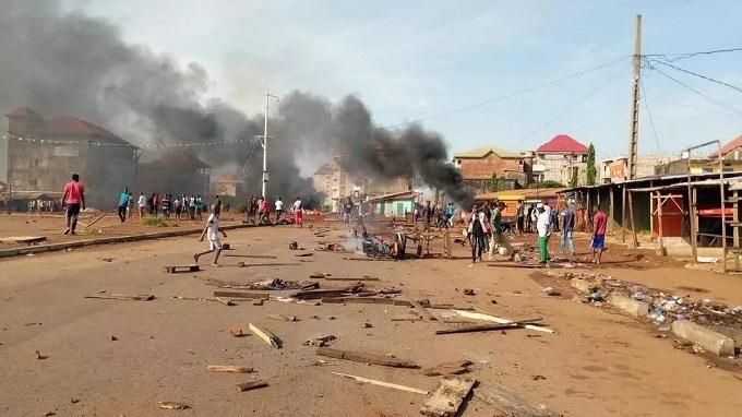Des violentes manifestations dans un quartier de l'opposant Cellou Dalein Diallo