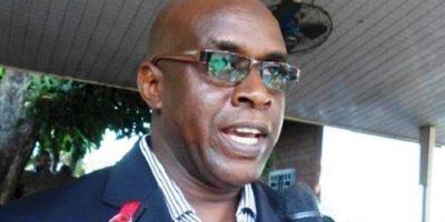 Fodé Oussou Fofana, un des vices-présidents de l'Union des forces démocratiques de Guinée (UFDG)