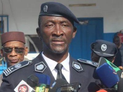 Le commissaire Fabou Camara, Directeur général de la Direction de la police judiciaire (DPJ)