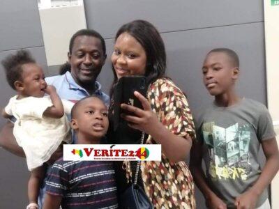 Almamy Diallo, Oumou Lamarana Diallo avec leurs trois enfants sont tous nés au mois de novembre