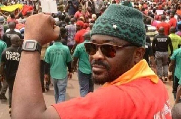 Foniké Menguè, membre du Front national pour la défense de la constitution (FNDC)
