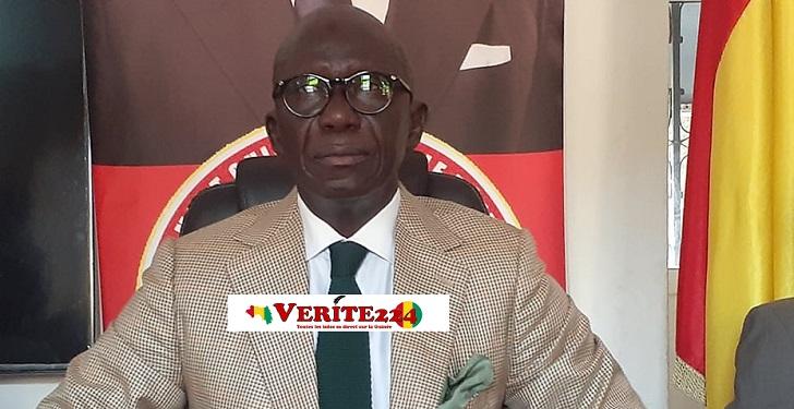 Me Abdoul Kabèlè Camara, Président du Rassemblement guinéen pour le développement (RGD)