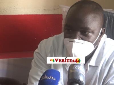 Pr. Thierno Mamadou Tounkara, dermatologue au CHU de Donka