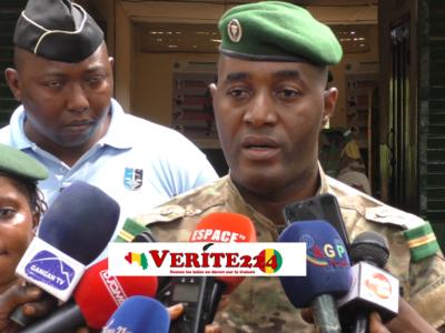 Sékou 2 Camara, commandant en chef adjoint de la Brigade spéciale de protection des personnes vulnérables