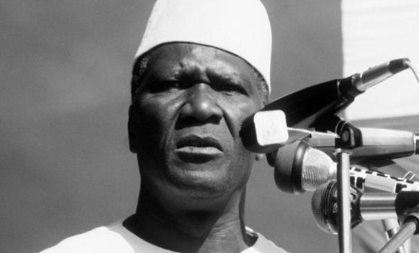 Sékou Touré, premier président de la Guinée