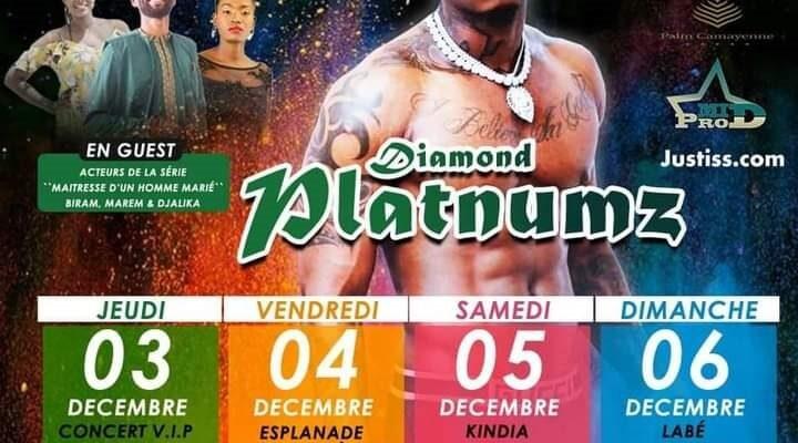Affiche de concert de Diamond Platnumz