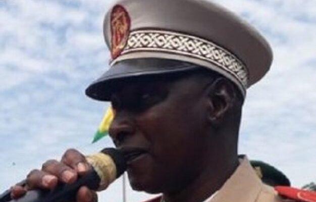 Colonel Mamadou Lamarana Diallo, préfet de Dinguiraye