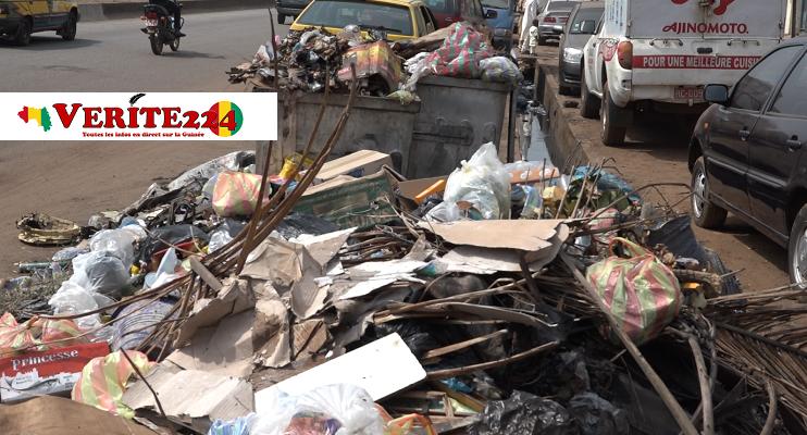 Des ordures assiègent la capitale Conakry