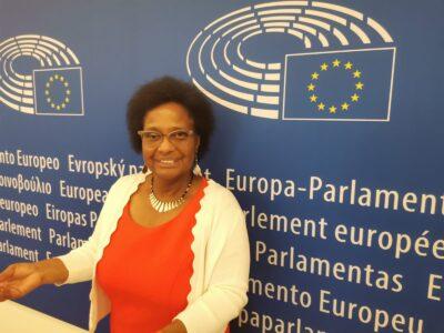 Dr. Pierrette Herzberger-Fofana. Eurodéputée