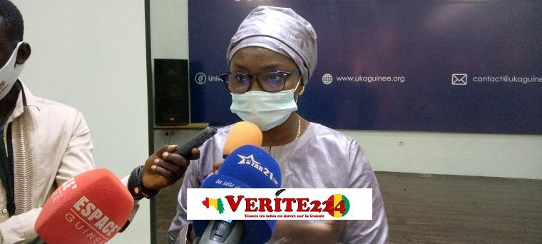 Fatou N'Diaye, chef de mission OIM-Guinée