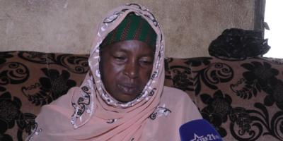 Hadja Ramatoulaye, mère de la victime Mamadou Lamarana Diallo
