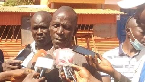 Laye Kourouma chef du quartier Missira, un quartier de la ville de Kankan
