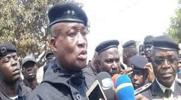 Le général Ansoumane Bafoé Camara, Directeur général de la police