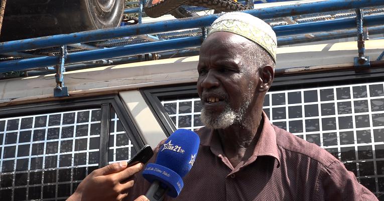 Mamadou Alimou Diallo, chef de ligne Conakry-Labé