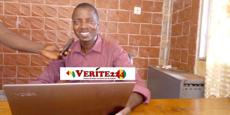 Mazoughou Goepogui, Directeur Général (DG) de l'entreprise Magoe Technologie