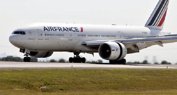 Un Boeing d'Air France (photo d'illustration)
