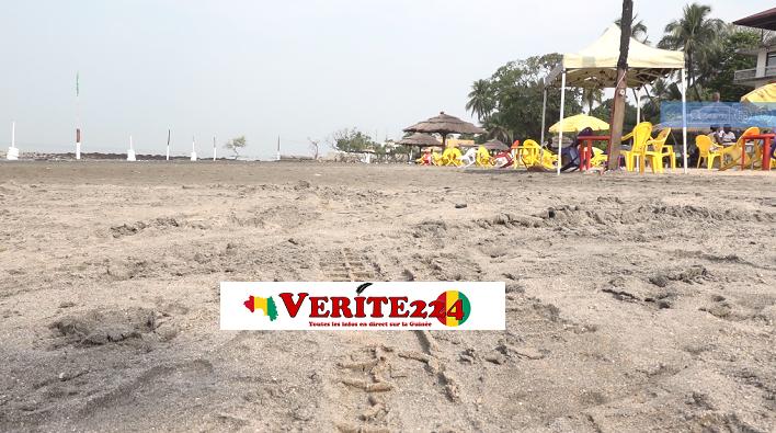 Une plage de Conakry