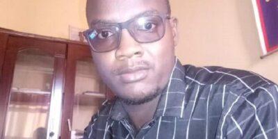 Ciré Baldé, responsable des publications du média en ligne VisionGuinee.info