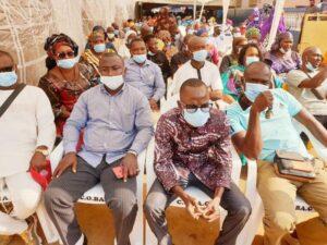 Des cadres de la Coordination de la Basse Guinée
