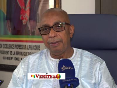 Dr. Amadou Bano Barry, Ministre de l'éducation nationale