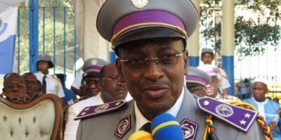 Le général Toumany Sangaré, Directeur général des douanes