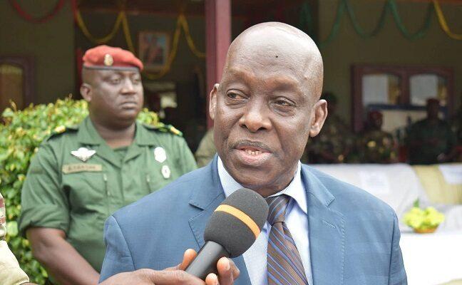 Mohamed Diané, ministre de la défense