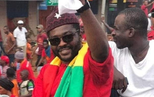 Oumar Sylla alias Foniké Menguè, responsable de la mobilisation du Front national pour la défense de la constitution (FNDC)