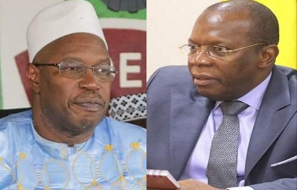 Photomontage Dr. Ousmane Kaba et Ibrahima Kassory Fofana