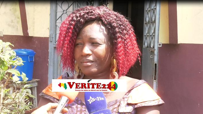 Sayon Bamba, directrice de l'Agence Guinéenne de Spectacle