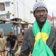 Sékou Koundouno, responsable stratégie et planification du Front national pour la défense de la constitution (FNDC)