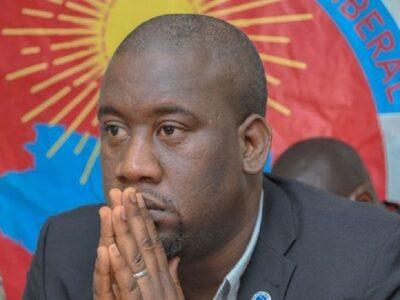 Aliou Bah, Président du Mouvement démocratique libéral (MoDeL)
