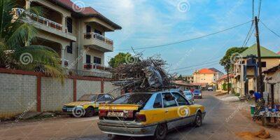 Dans une rue de Conakry