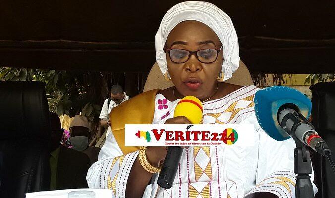Hadja Aissata Daffé, ministre de l'action sociale et de l'enfance