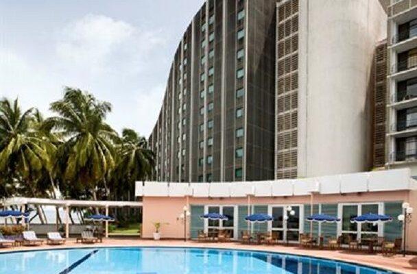 L'ancienne bâtisse de Novotel-Conakry